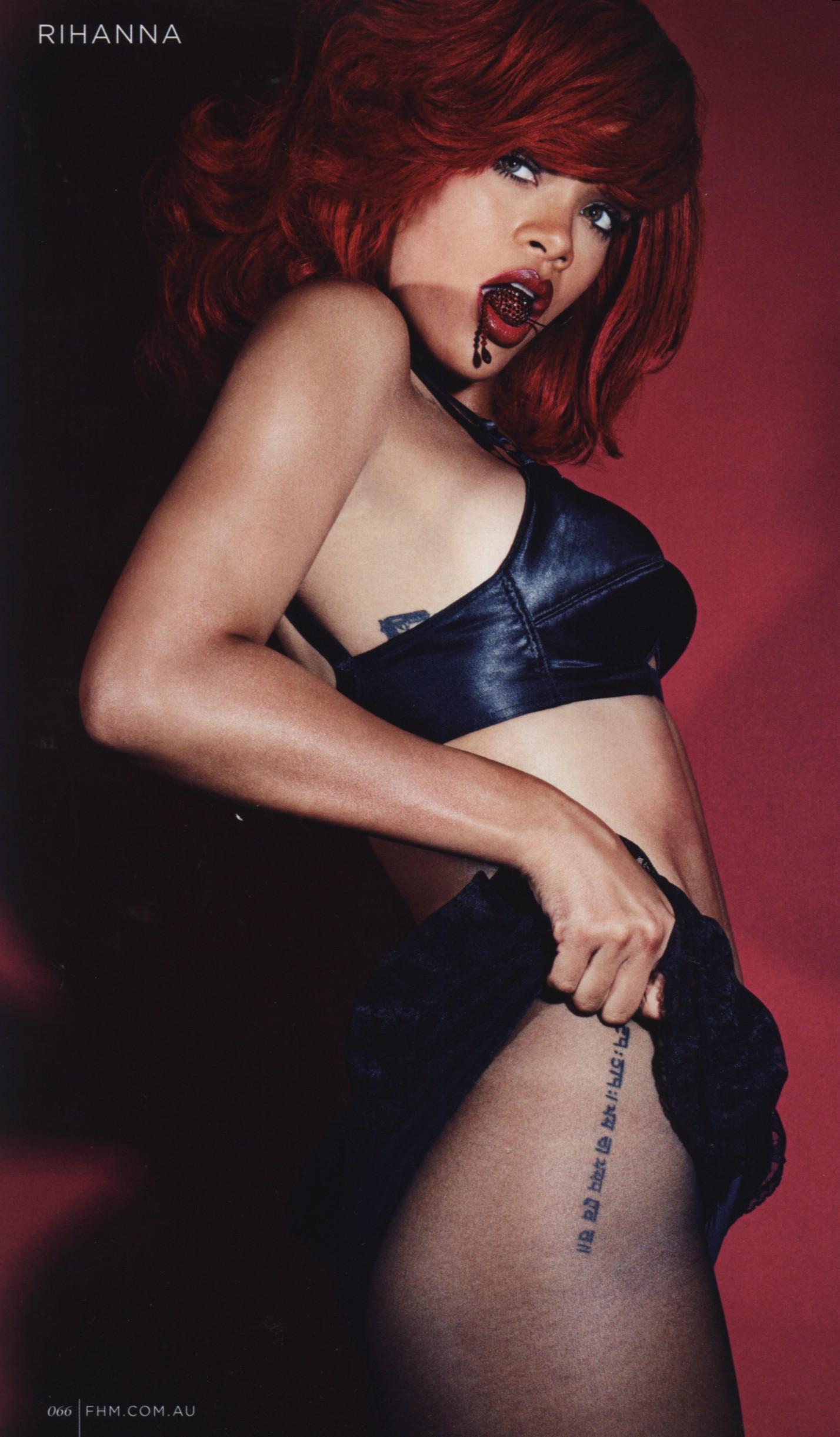 Rihanna Fhm Nude 46