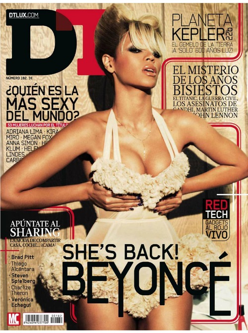 Beyonc Knowles - DT Magazine February 2012