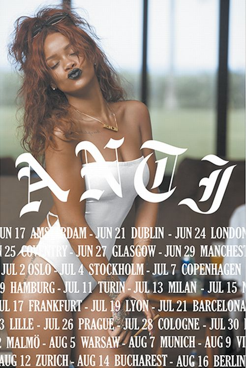 Rihanna Nude for Anti World Tour Merchandise (5)