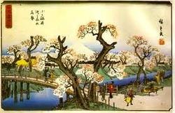 広重小金井橋-1