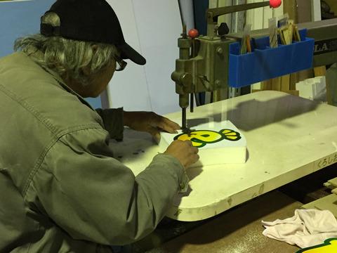 カルプ文字の製作