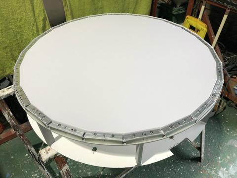 丸型電照看板の製作