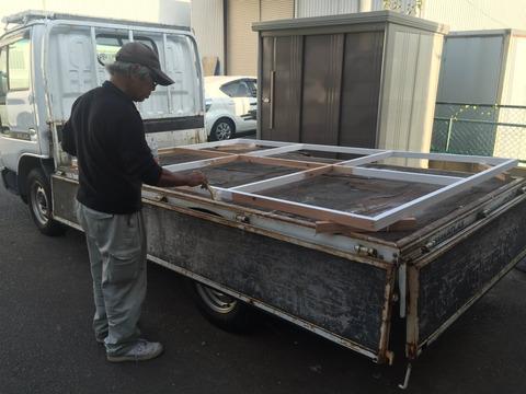 木枠の塗装