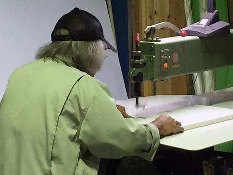カルプ文字の製作中です