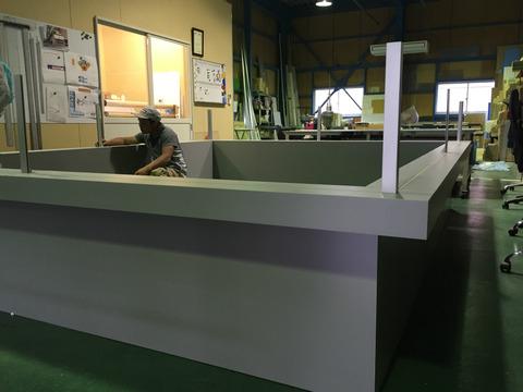 木工什器の製作
