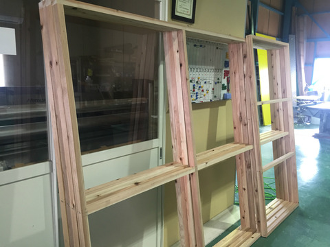 木枠の製作