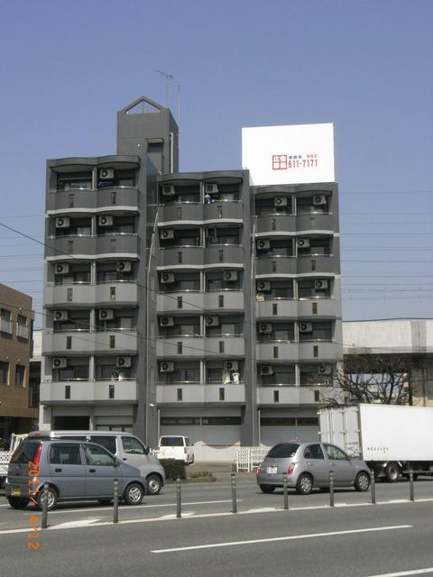 フラリッシュ博多東 様 塔屋・壁面広告看板