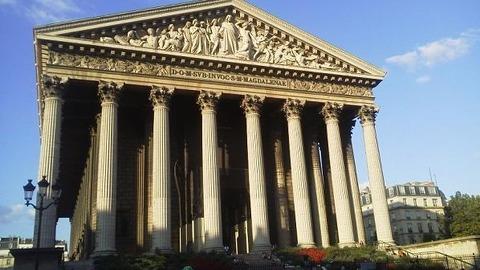 パリ・マドレーヌ寺院1