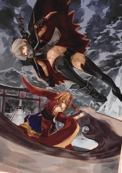 曇天の戦い2