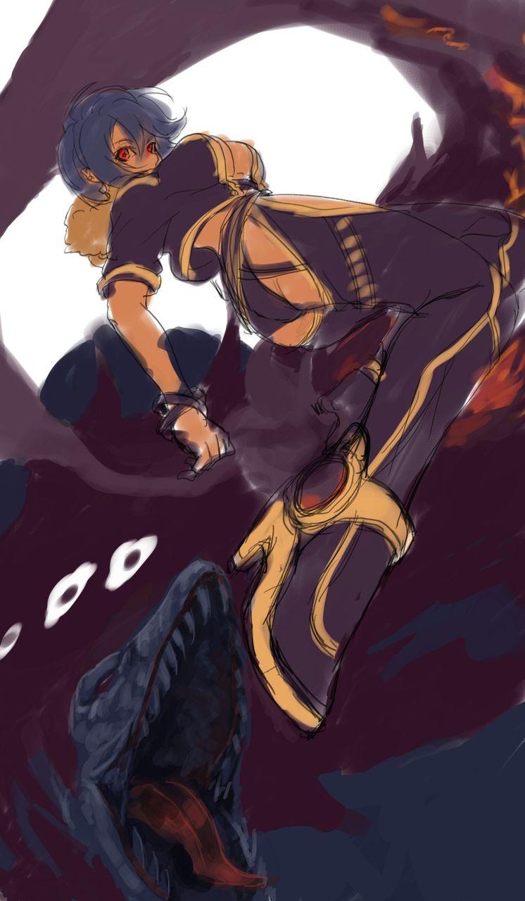 kritaでファンタジーイラストを描いてみたpart2 : artus blog