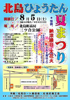 徳島県板野郡北島町 北島ひょうたん夏まつり 2017