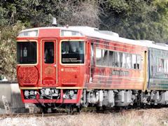 観光列車 四国まんなか千年ものがたり JR四国 池谷駅 周辺 2017