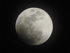徳島県 皆既月食 2018年1月31日