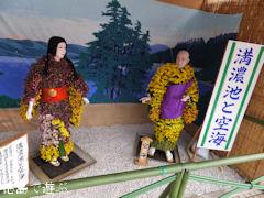 鴨島 菊人形 菊花展 2013