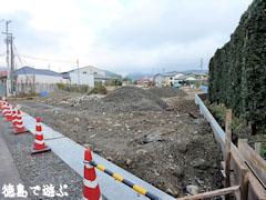 バルトロケ村 建設中