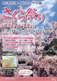 徳島県名西郡神山町 神山森林公園 イルローザの森 さくら祭り 2014
