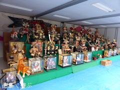 徳島県勝浦郡勝浦町横瀬中央商店街 武者人形祭り 2014