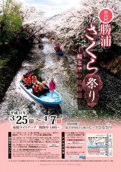 徳島県勝浦郡勝浦町 第16回 勝浦さくら祭り 2019