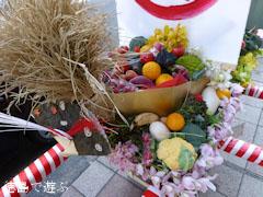 徳島市 事代主神社 えびす祭 野菜みこし 2013
