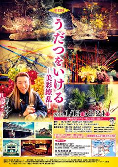 徳島県美馬市 第12回 うだつをいける 美彩繚乱 2019