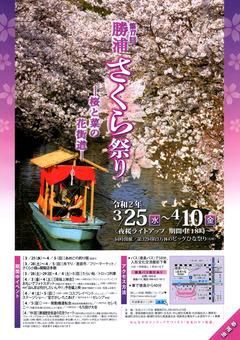 徳島県勝浦郡勝浦町 第17回 勝浦さくら祭り 2020