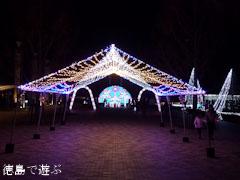 あすたむらんど徳島 クリスマスイルミネーション 2011