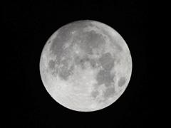 徳島 2018 最大の満月