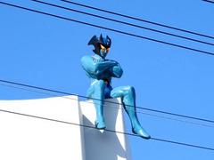 徳島県板野郡北島町 県道39号線 ビルの上 デビルマン 2019