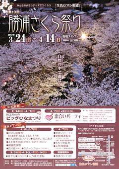 第10回 勝浦さくら祭り 2013