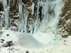 神通滝 氷瀑 2011