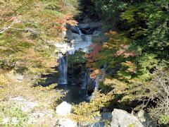 大轟の滝 紅葉 2010
