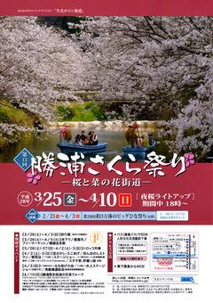 徳島県勝浦郡勝浦町 第13回 勝浦さくら祭り 2016