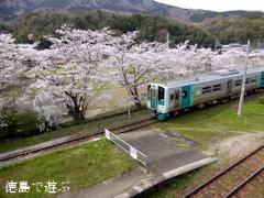 徳島県美馬市穴吹町 JR四国 徳島線 小島駅