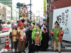 徳島市通町 えびす祭 2014