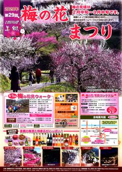 徳島県吉野川市 第29回 美郷 梅の花まつり 2020