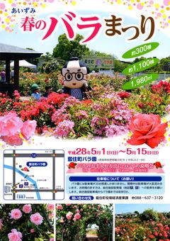 徳島県板野郡藍住町 あいずみ 春のバラまつり 2016