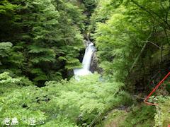 大釜の滝 2011