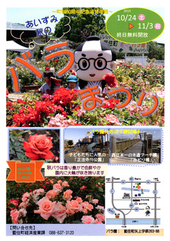徳島県板野郡藍住町 あいずみ 秋のバラまつり 2015