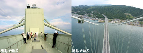 明石海峡大橋 淡路側主塔