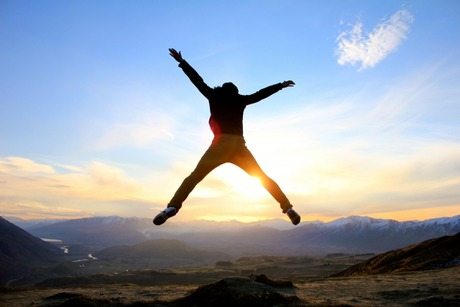 足は人間にとっての翼!!なのでやっぱり空を飛べる?