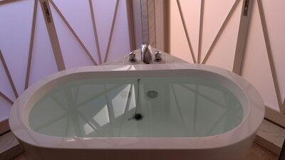 グランピングDIVA温泉1