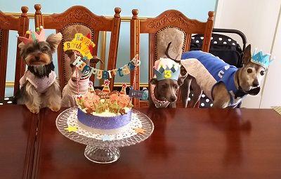お家サロン合同誕生日6