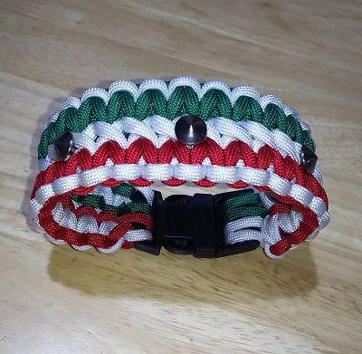 イタリアンカラーパラコード首輪