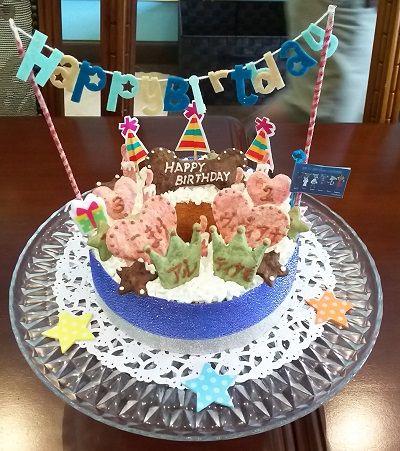 お家サロン合同誕生日1