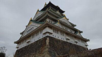 イタグレ大阪城散歩 (6)