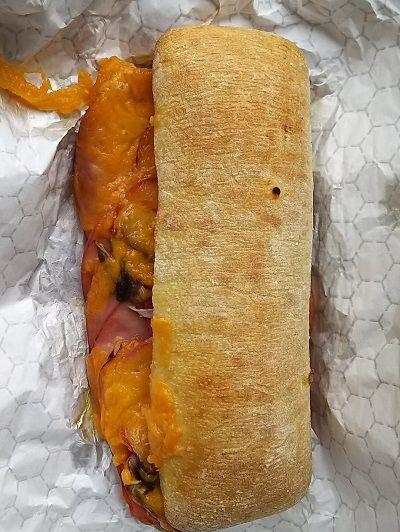 コストコ_チャバタホットサンドイッチ2