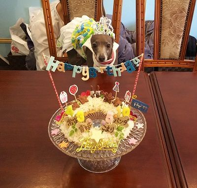お家サロン誕生日会2