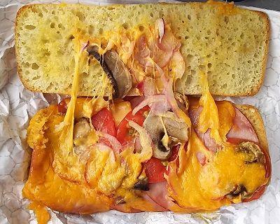 コストコ_チャバタホットサンドイッチ3