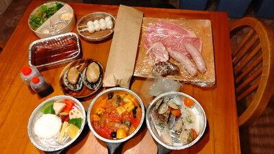 グランピングDIVA食事1