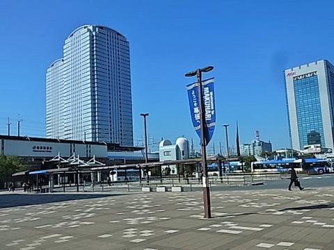 海浜幕張駅からタワーマンション建設中付近を散歩